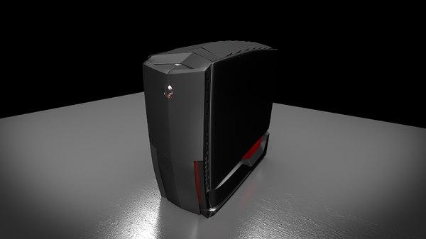 3d model dell alienware area 51