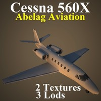 cessna x basic 3d model