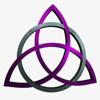 triquetra 3d obj