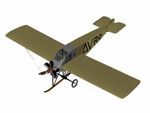 3d max avro type f