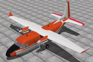 casa 212 transport 3d model