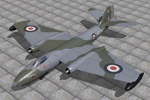 canberra b 8 3d 3ds