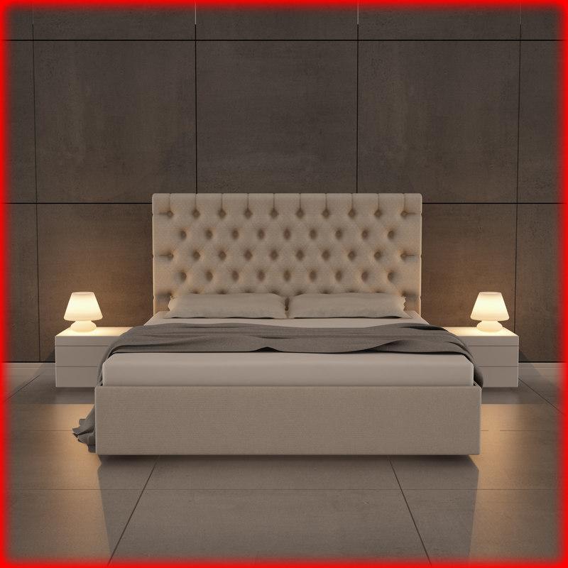 3d nice bed 04