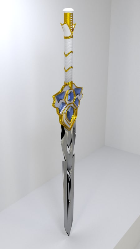 fantasy sword 3d 3ds