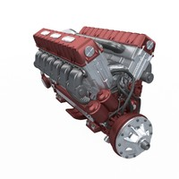 realistic v92s2 engine soviet tank max