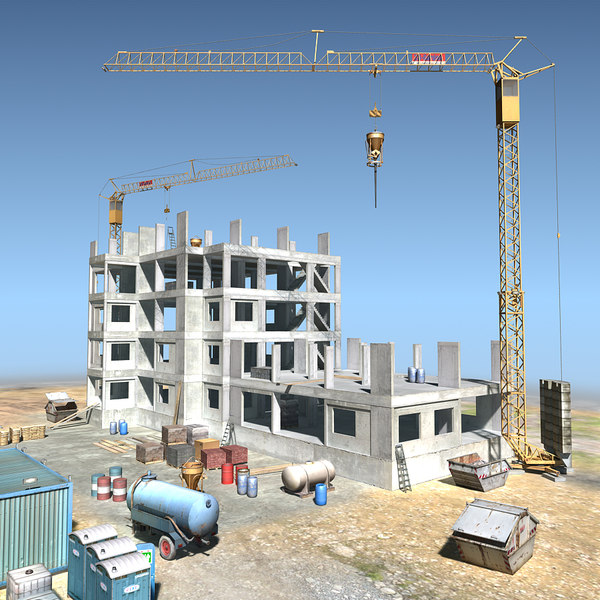 lightwave construction scene 01