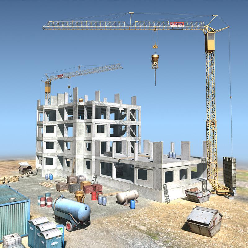 lightwave construction scene 01