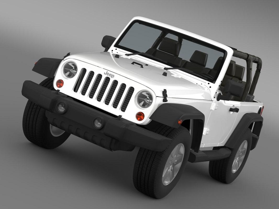 c4d jeep wrangler islander edition