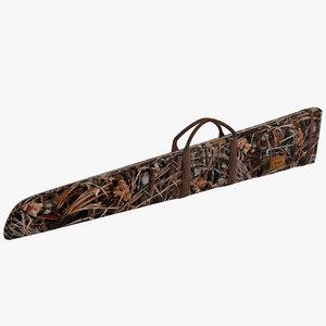 flotation shotgun gun case 3d 3ds