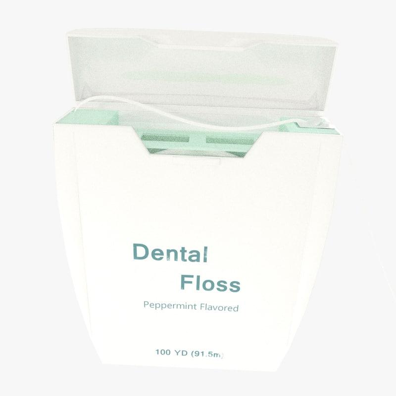 blender dental floss