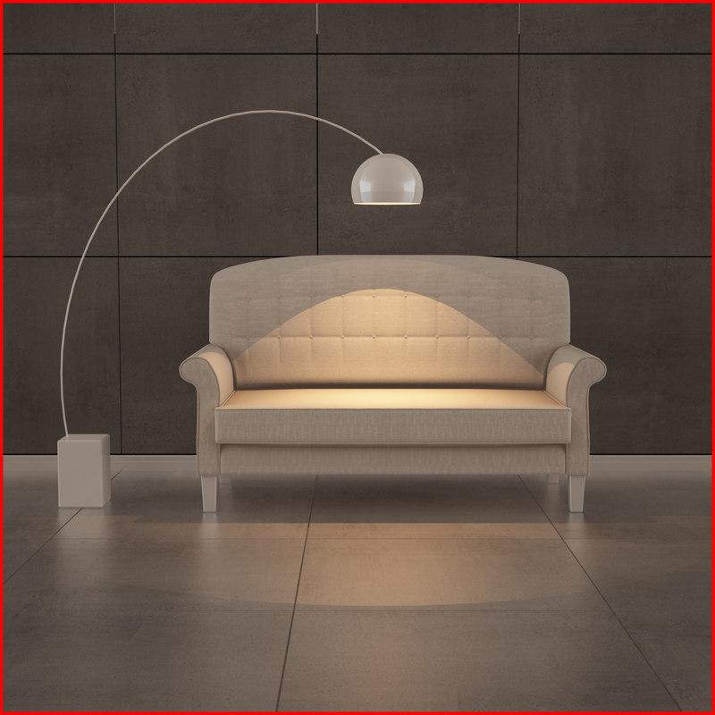 nice sofa 10 3d max