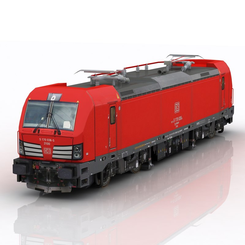 siemens vectron db 3d model