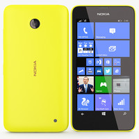 Nokia Lumia 630 635 Yellow