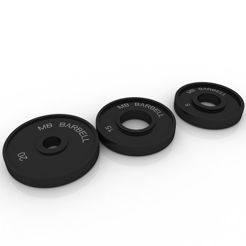 3ds max weight plates