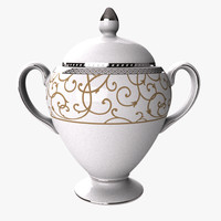 wedgwood sugar bowl 3dm