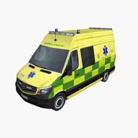 Mercedes Sprinter 2014 Ambulance UK