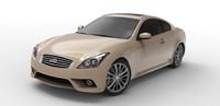 3d infinity car model