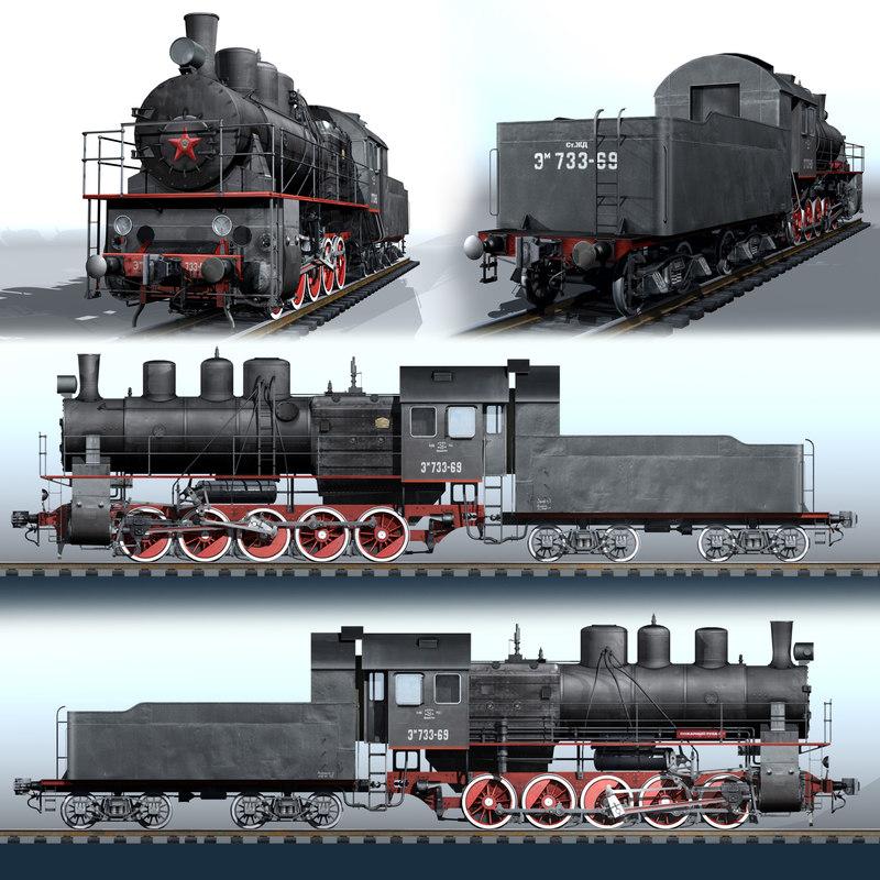 russian steam locomotive series max