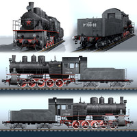 russian steam locomotive series max