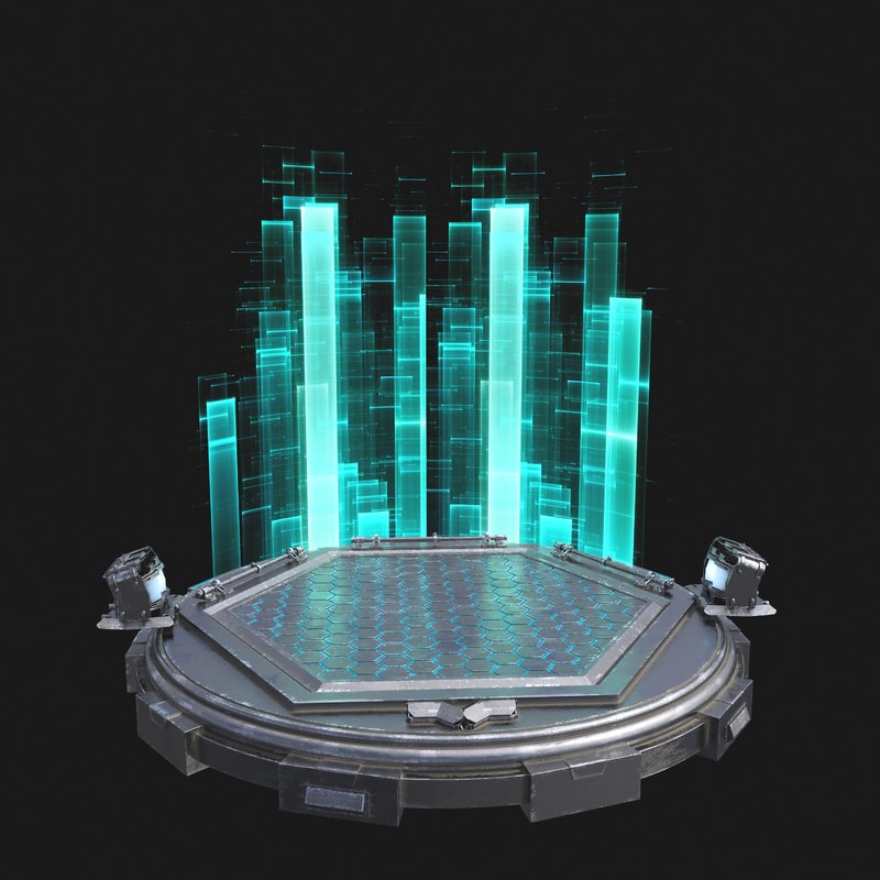 max sci fi turntable