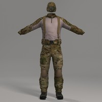 Combat Apparel & Headwear Multicam