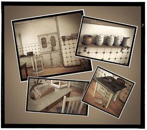 maya vintage kitchen