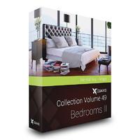 CGAxis Models Volume 49 Bedrooms II MentalRay