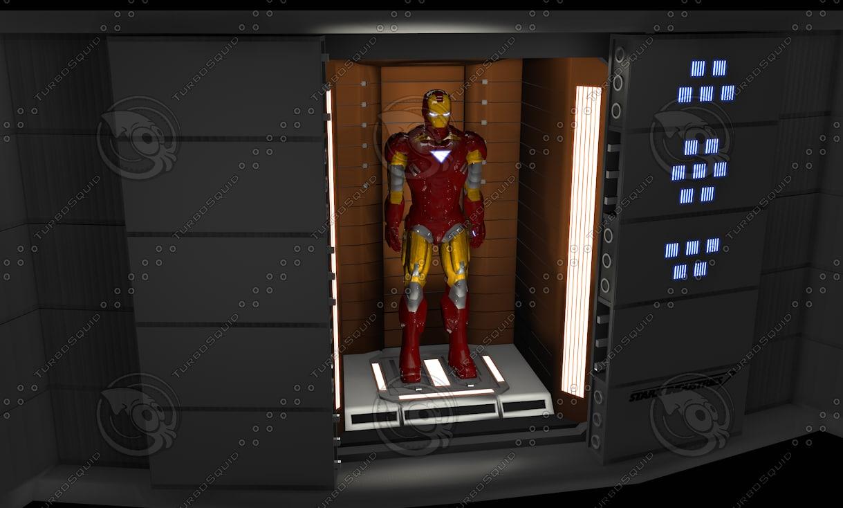 3d avengers helicarrier vault diorama