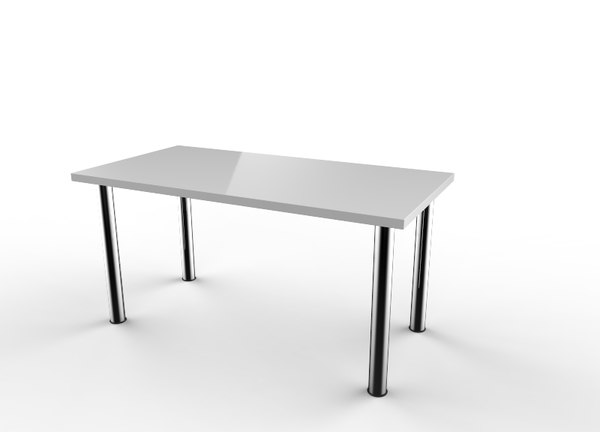 ikea linnmon desk 3d 3ds