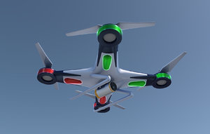 3d quadcopter