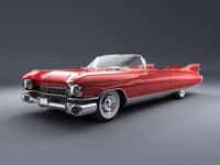 Caddy Eldorado 1959 Studio Lighting