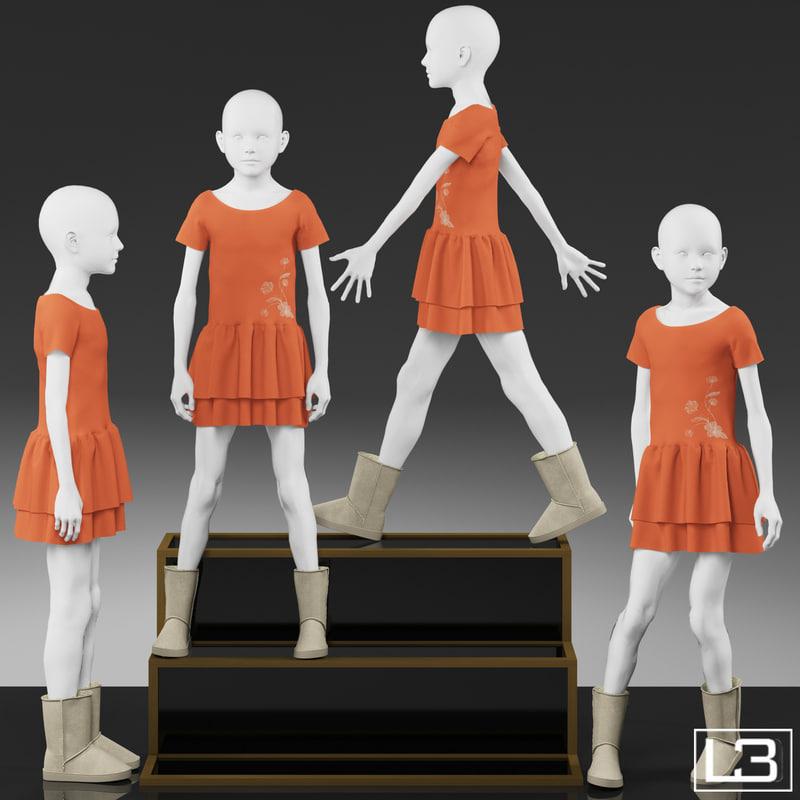 girl mannequin max