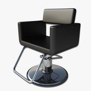 3dsmax salon chair