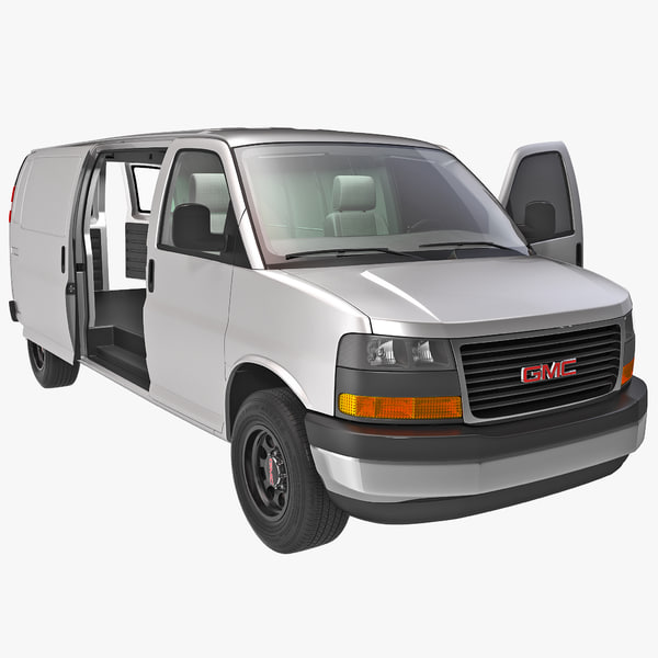 GMC Savana Cargo Van 2014 Rigged