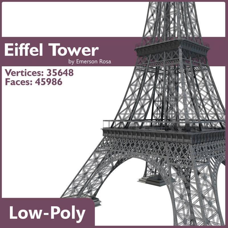 3d low-poly polys model