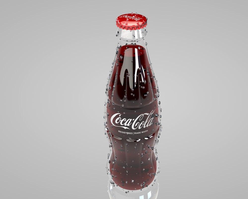 3d coca cola bottle model   999 x 800 jpeg 51kB