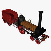 3d model norris lafayette