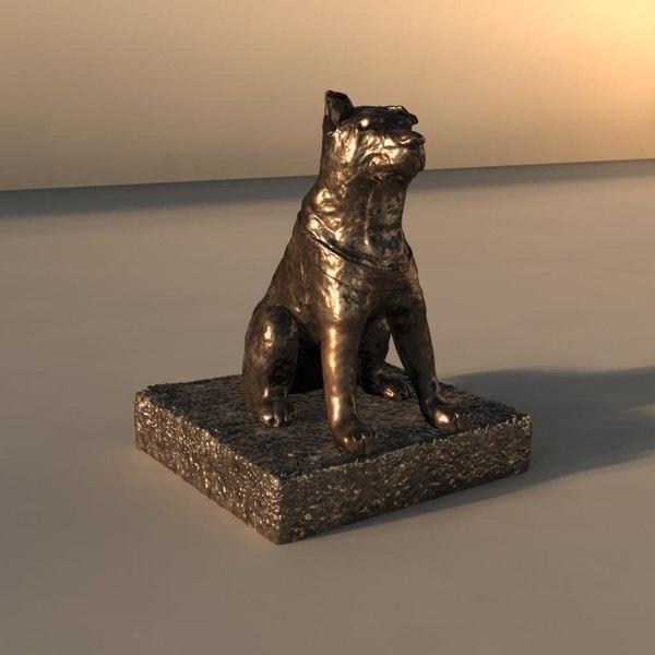 maya hachiko statue