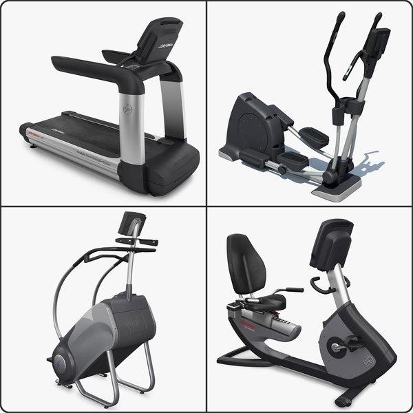 3d cardio exercise equipment