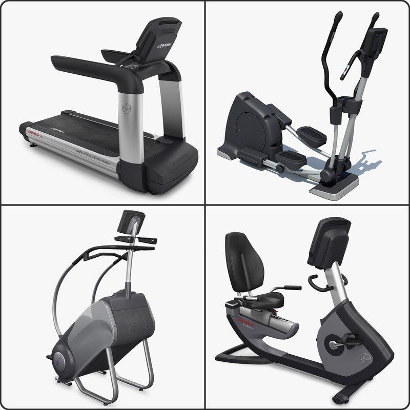 3d cardio exercise equipment