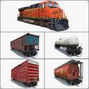 Cargo Train ES44