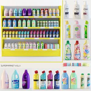 supermarket shopping detergent max