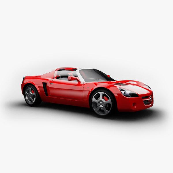 Opel/Vauxhall Speedster Cabriolet  (+Hardtop)