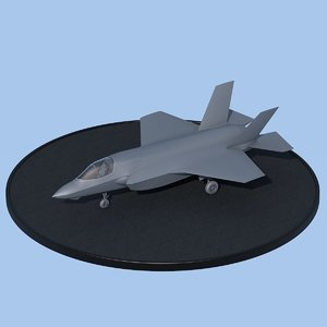 f-35b lightning ii 3d model