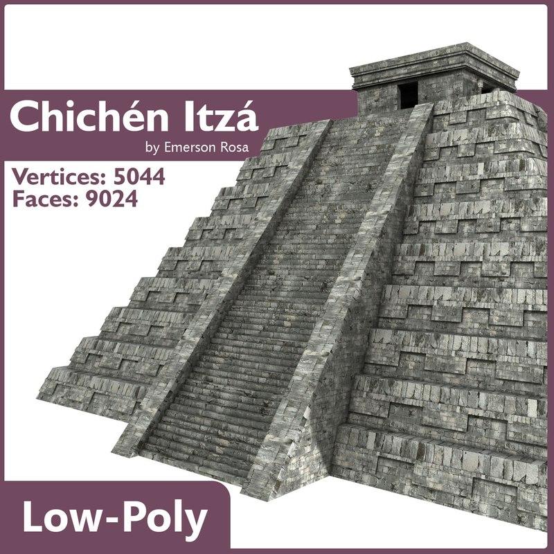 max pyramids chichen itza