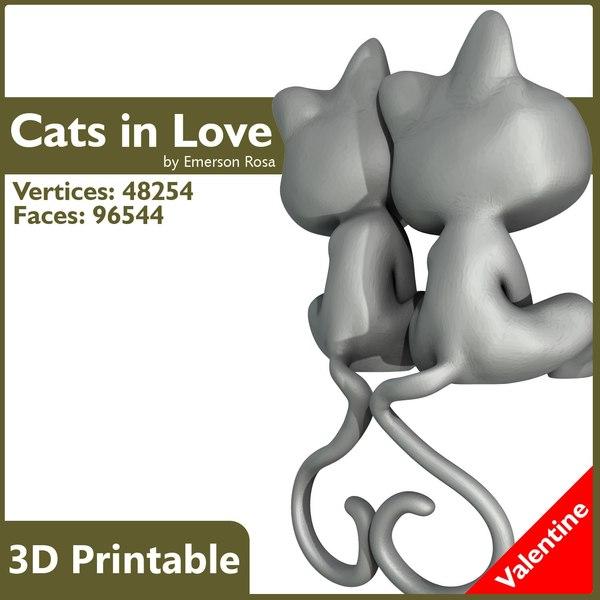 3d cats model