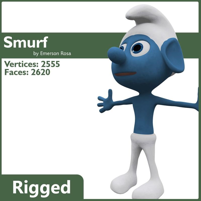 smurf rigged max