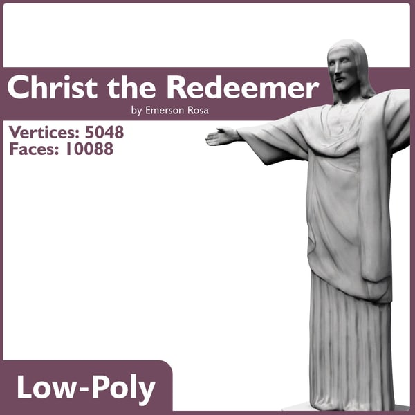 Christ the Redeemer - Game-ready