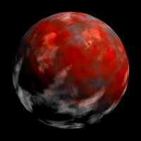 red planet with clouds AA10011.TAR
