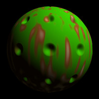 scifi green red sphere shader AA14503.TAR